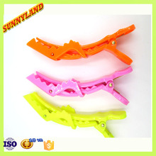 2015 Hot Selling Plastic Crocodile Hair Clips For Children Headwear
