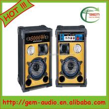 High Quality KTV Karaoke Loudspeaker/OEM audio speaker/power amplifiers Gem-6003
