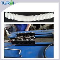 Manufacturer of PVC plastics corrugated tubes forming making machine made of PA PE PP PVC EVA extrusion line
