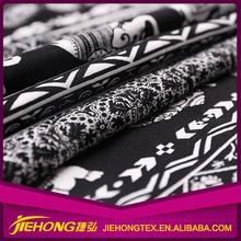 Print Fabric Supplier Textile Custom indonesia cotton printing fabric