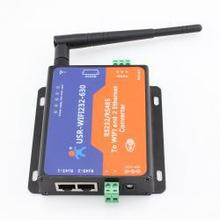 wireless networking server USR-WIFI232-630 wifi router module with 2 Channel RJ45