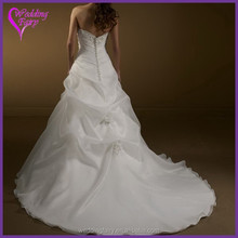 Cheap Prices!! OEM Factory Custom Design bridal gown made in suzhou