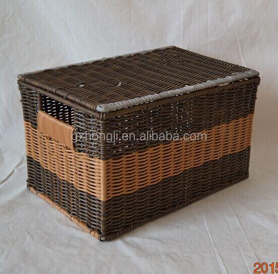 rotin tronc en osier panier grossiste en osier panier avec couvercle artisanat folklorique id de. Black Bedroom Furniture Sets. Home Design Ideas
