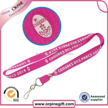 various kinds of custom lanyards with any logo imprinted
