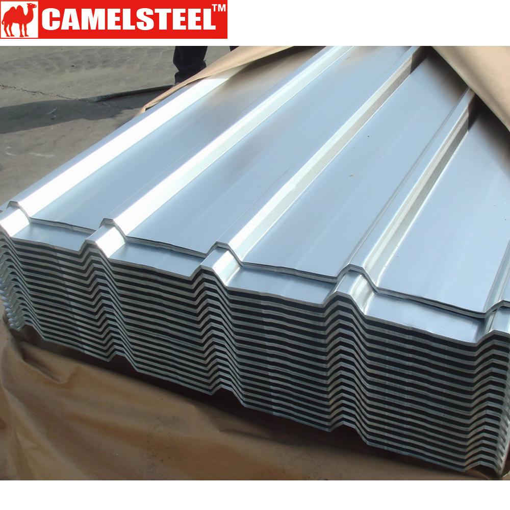 Corrugated steel roofing sheet aluzinc roof sheets metal for Roofing product