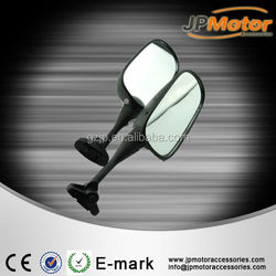 Racing Bike Rear View Motorcycle Side Mirror Glass Mirror ABS Cover Right & Left Mirror Suitable For Motorcycle