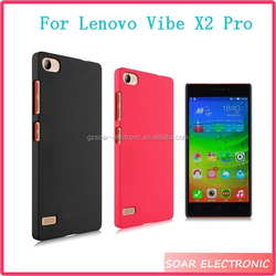 Jelly Colorful Frosted Hard Plastic Cell Phone Case Cover For Lenovo Vide X2 Pro