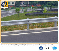 spraying plastic Armco guardrail ,used steel guardrail alibaba china supplier for sale
