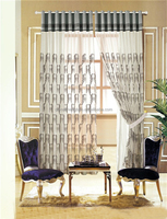 China supplier ready made sun screen curtains for hotel room