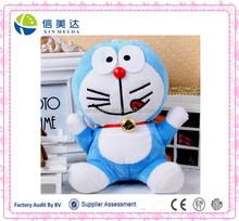 Voice recordable Doraemon anime plush toys for 12s