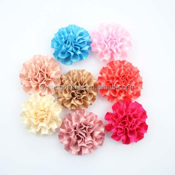 Carnation ribbon flower decorative for dress buy ribbon flower ribbon flower decorativeg mightylinksfo