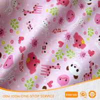 Cute design printed 100 cotton knitted fabric many patterns available