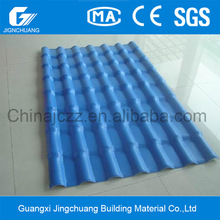 colorful Spanish style acrylic plastic roof tile