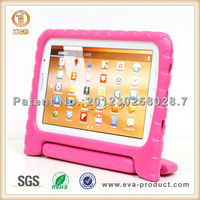 Foam 8' inch case cover for tablet pc with stand for kids