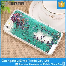 New Crystal Mobile Phone Bling Star Moving Glitter Case for iPhone 6 Plus 5.5 inch
