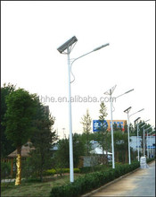 Solar Powered 30W Exterior Led Street Lamp CE RoHS TUV SGS Roadway Lighting