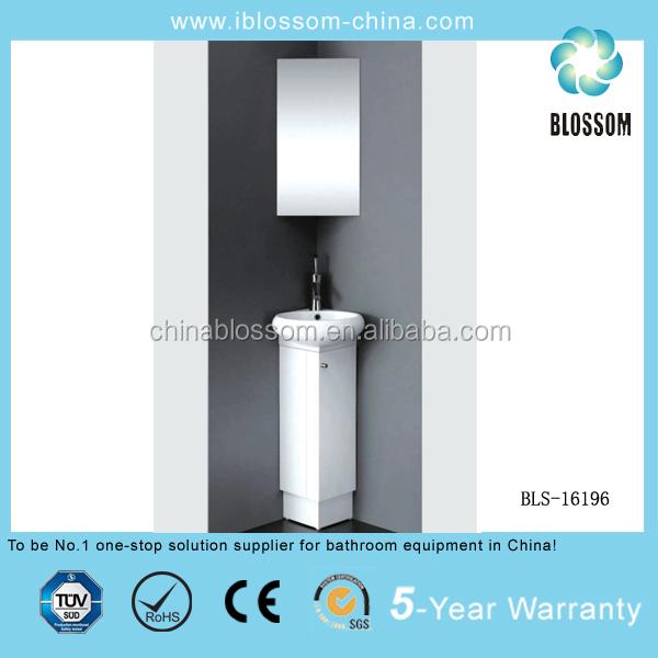 PVC Única parede do banheiro armário de cantoPenteadeiras para banheiroID d -> Armario Para Banheiro Pvc
