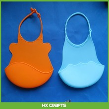 Best Soft Baby Bib Baby Silicone Bucket Bib Save Cleanup Time and Catch Spills
