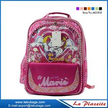 Big suppliers promotion advanced zipper cartoon child school bag