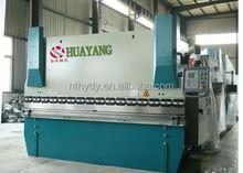 WC67Y-300*4000 metal sheet folding machine 300 tons steel press brake