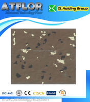 silicone rubber flooring for basketball courts/athletic track