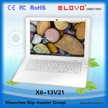 1gb memory Android laptop computer13.3 inch dual core Android4.2 IPS screen laptop VIA WM8880 wired bluetooth laptop13.3inch