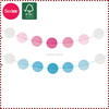 Light Color Honeycomb Ball Garland for Baby Shower