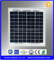 Photovoltaic 5W poly solar panel in china with best price