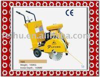 gasolin engine13HP, reinforced hydraulic asphalt road cutter machine
