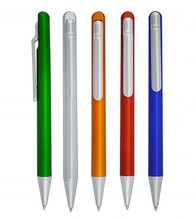 new design promotional pen simple plastic ball pen