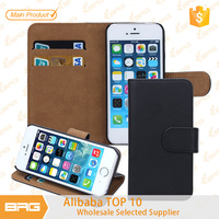 BRG Factory Price $0.99 Cheapest Wallet Leather Case for iPhone 5