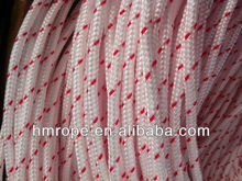 pp multi seil flechten farbe weiß mit roten