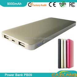 Laser function portable power bank for mini ipad/portable power bank biyond