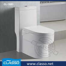 Chinese manufacturer washdown ceramic one piece 3 in 1 commode toilet