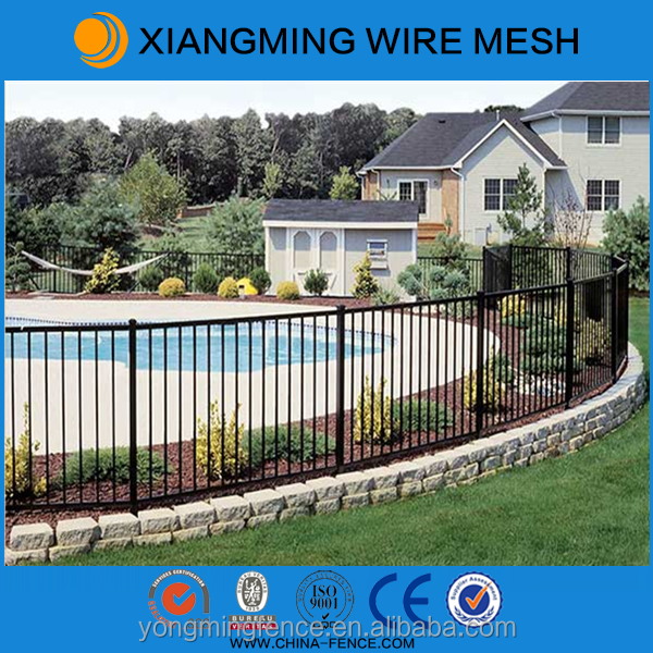 High quanlity aluminum portable swimming pool fence for