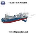 Engenharia em miniatura modelo de navio