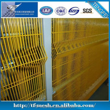 Alibaba China Cheap PVC Painting Metal Iron safety fencing( ISO 9001)