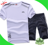 white cotton printing plain t shirts for sports men