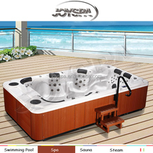 JOYSPA hot sell xxxl sexy full hd sex massage hot tub wit large spa JY8001