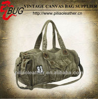 Large capacity Canvas Duffle Bag/ Canvas Travel Bag /Duffle bag for man Army green