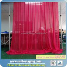 Trade show booth innovative backdrop wedding decoration manufacturer