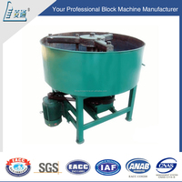 Mini mobile self loading HY350 concrete mixer with lift with pume for automatic block making machine with low prices