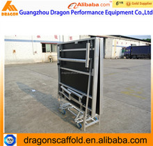 Aluminium Foldable Stage, aluminum portable stage, used Excellent Stage