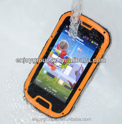 ip phone 4.3inch touch screen gorilla glass android cell phone dual camera waterproof smart phone