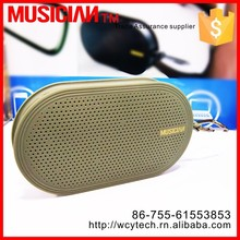Direct factory selling portable bluetooth speaker with own design MP3 music player by bluetooth within 10 meters