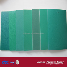 Lychee surface pvc floor for badminton