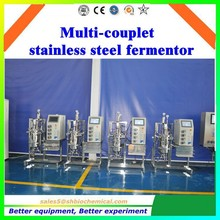 bio fermenter Stainless steel fermenter,fermentation tank,fermentor,bioreactor lab fermentor bacteria Sterilization