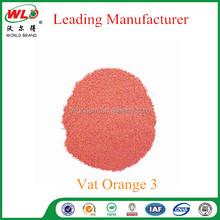 China dyestuff/Vat dye Brilliant Orange RK/C.I. Vat Orange 3
