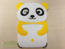panda design Silicon Case For Ipad 2/3/4 With 3D Image