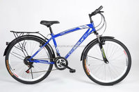 26 inch carbon steel frames mountain bike,high quality double disc brakes with factory price SM-2253
